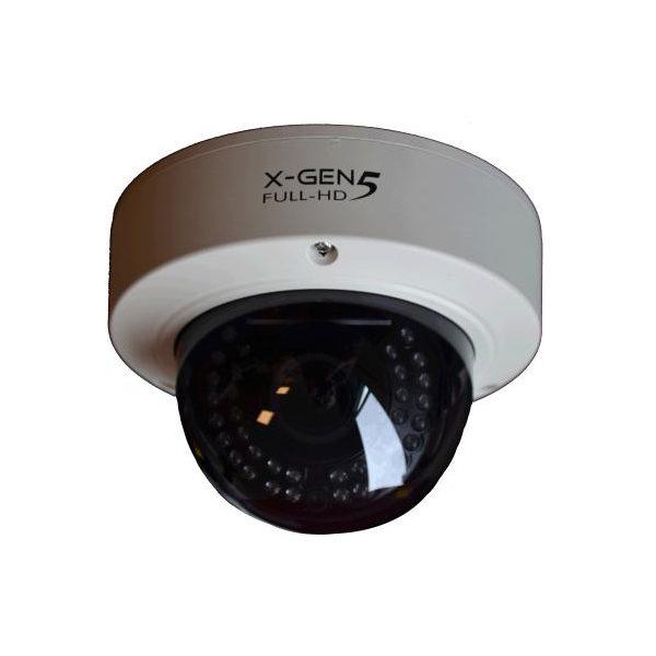 Lichtgevoelige breedbeeld beveiligingscamera